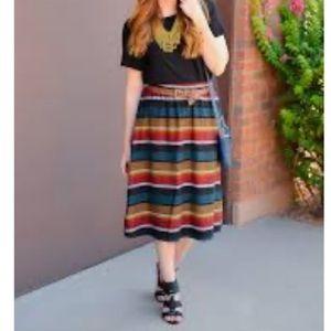 Gorgeous Stripe Skirt